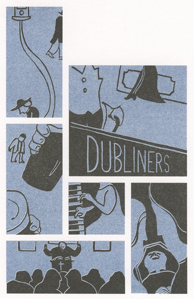 17 best recommended reading images on pinterest recommended dubliners design matthew broughton illustration by judit ferencz fandeluxe Images