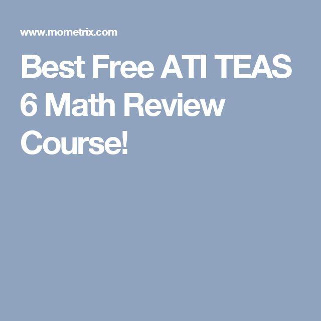 Teas math study guide free