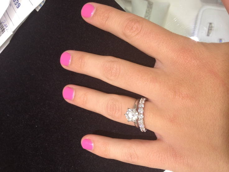 wedding band and ring - How To Wear Wedding Rings