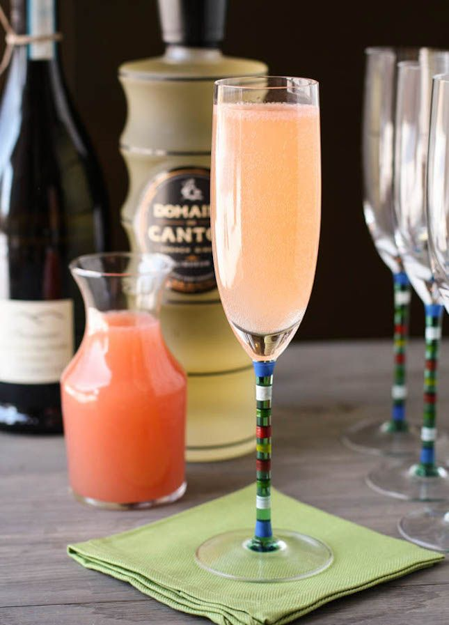 Bookmark this Ginger Grapefruit Sparkler recipe for brunch.
