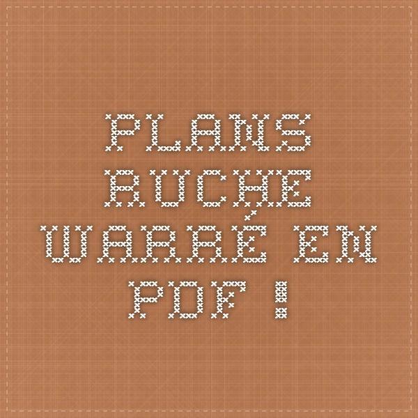 Plans ruche Warré en PDF !