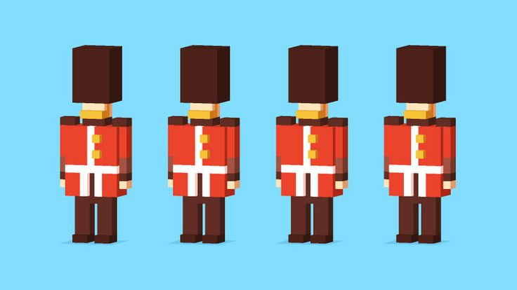 Crossy Road British Characters