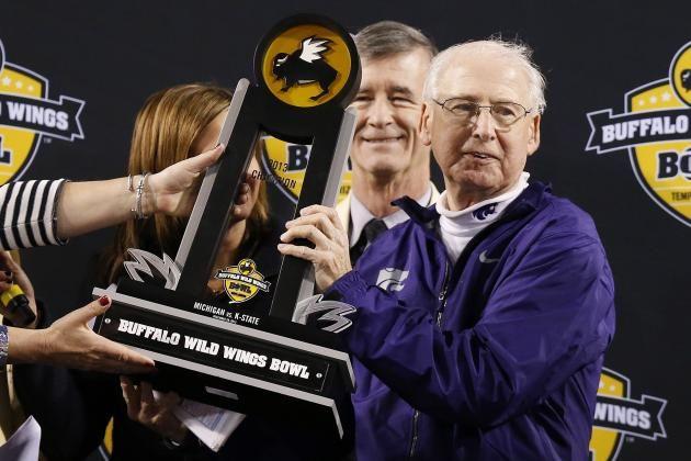 Big 12 Football Rankings by full coaching staff 1. Kansas State Wildcats
