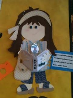 Idea for decorating Paper Dolls