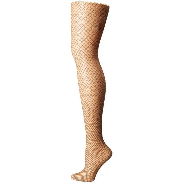 HUE Petite Fishnet Tights (Deep Honey) Hose ($15) ❤ liked on Polyvore featuring intimates, hosiery, tights, hue stockings, petite tights, petite hosiery, petite stockings and fishnet hosiery
