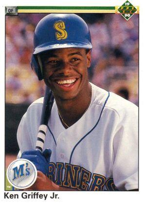 1990 Upper Deck Baseball Card of Ken Griffey Jr.