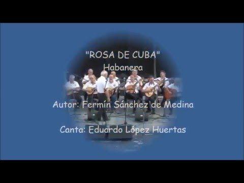 Rosa de Cuba Rosa de Cuba Rem La7  Esta can ción, que va hacia ti, Rem  es mi pasión, es el sen tir, Re7  tú eres mi amor, bella y gen til, Solm Rem  y tus en cantos me gustan tanto La7 Rem  que no los puedo ya resis tir. Re7  Tu eres mi vida, bella y gen til, Solm Rem  y tus en cantos me gustan tanto La7 Rem  que no los puedo ya resis tir. Rem  Tus ojos negros son dos luceros, La7  y son tus labios fresa y jaz mín. Y es tu carita mi cubanita, Rem  como una rosa en el mes de a bril. Te…