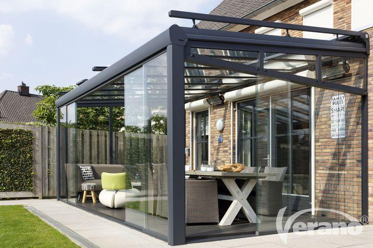 Met een #terrasoverkapping geniet u ook in de #winter van uw #tuin!