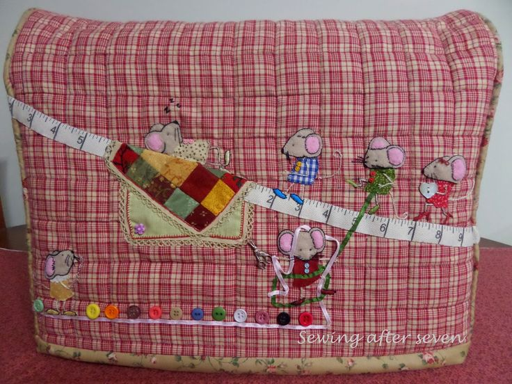 Sewing After Seven: Sewing machine cover