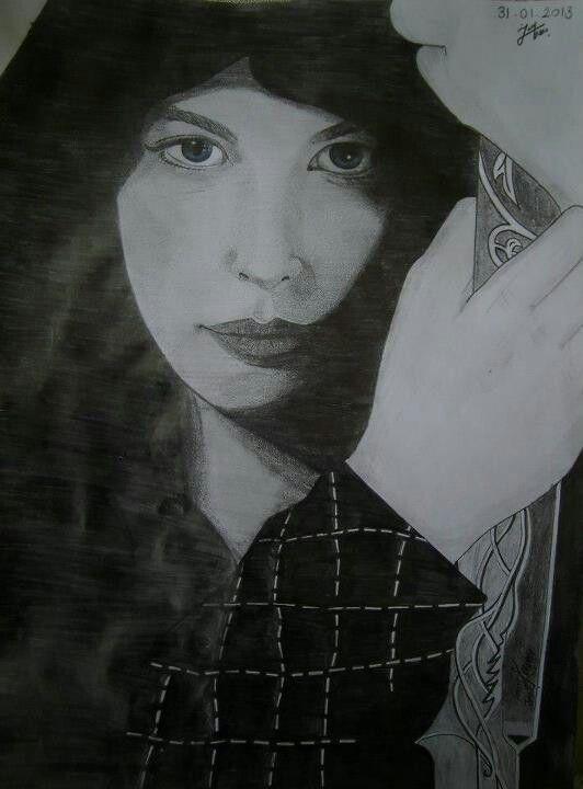 #sketch #LOTR #Arwen