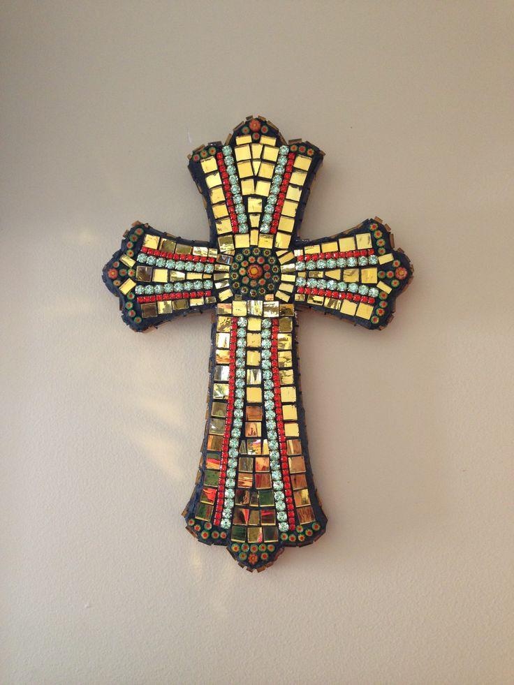 45 Best Images About Mosaic Crosses On Pinterest Blue
