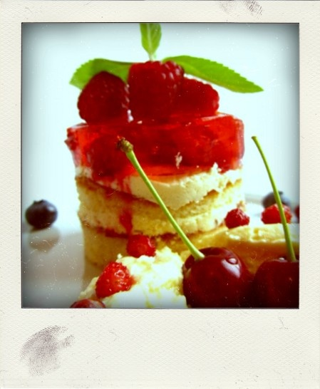 Torcik malinowy | Raspberry cake