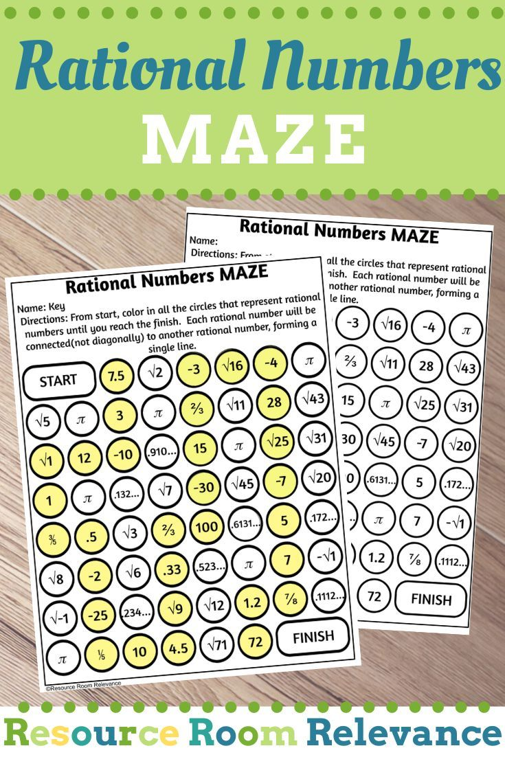Identifying Rational Numbers Maze Activity Rational Numbers Rational Numbers Activities Word Problems Task Cards Adding polynomial expressions 172