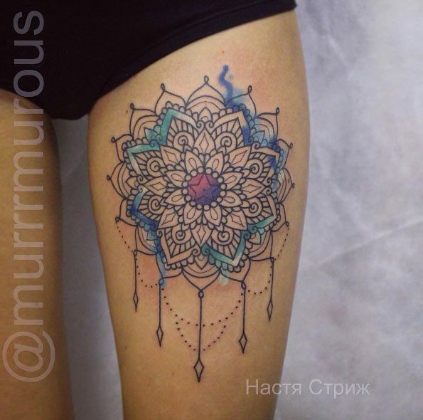 9 Mandala Tattoo Designs And Ideas: 60+ Gorgeous Mandala Tattoos You'll Wish Were Yours
