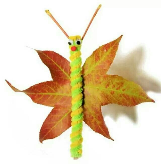 Herbstbasteln mit Naturmaterialien