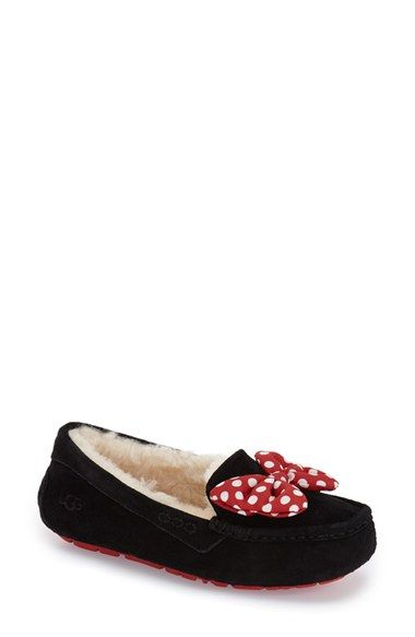UGG® Disney® 'Topolina' Slipper (Women) available at #Nordstrom