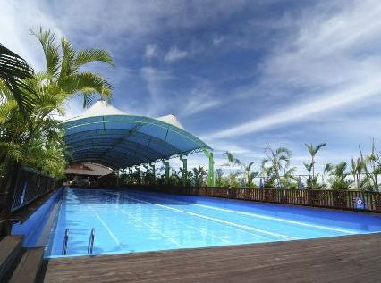 Outside Pool at the Eastwood Valley Golf & Country Club - Miri - Malaysia