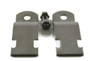 """1-1/2"""" Pipe Clamps - 304 Stainless Steel"""