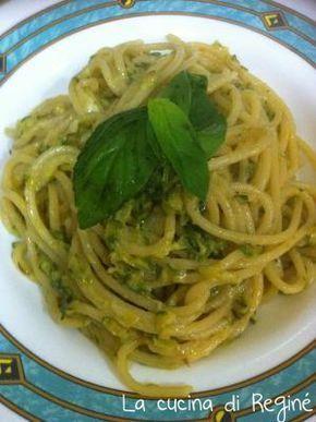 #Spaghetti alla Nerano (la mia versione)# La cucina di Reginé