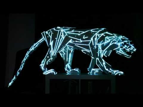 Video Mapping 3d sculpture - YouTube