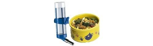 Comederos y bebederos para roedores al mejor precio en la tienda de mascotas online Wakuplanet.com