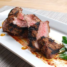 Herb and Spice Grilled Steak, a recipe from ATCO Blue Flame Kitchen's Everyday Delicious 2003 cookbook.