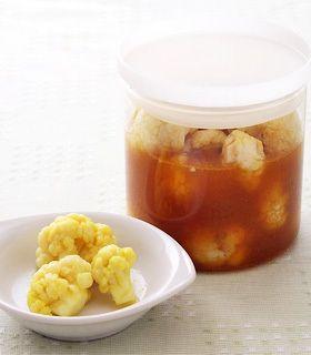 カレーカリフラワーのピクルス by ミツカン [クックパッド] 簡単おいしいみんなのレシピが228万品