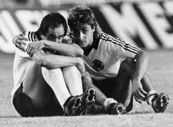 Uli Stielike and Pierre Littbarski (West Germany, 1981–1990, 73 caps, 18 goals)