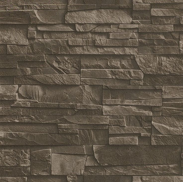 M s de 1000 ideas sobre papel tapiz de piedra en pinterest - Papel pintado imitacion piedra ...