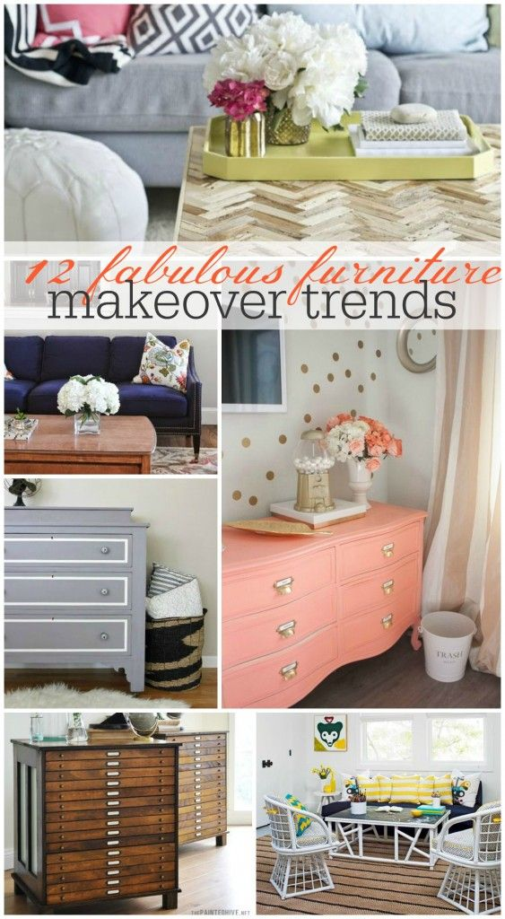 Try a fabulous furniture trend! 'Tis the season: http://www.bhg.com/blogs/better-homes-and-gardens-style-blog/2014/07/22/12-fabulous-furniture-trends-to-inspire-your-next-makeover/?socsrc=bhgpin080714furnituremakeovertrends