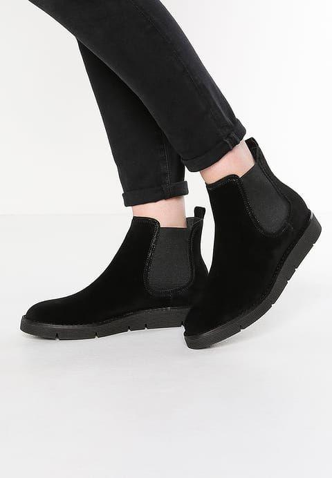 Pier One Ankle boot - black - Zalando.pl