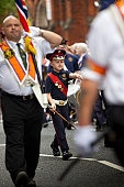 Twelfth Parade/Orangemen's Day or Orangefest, annual Protestant event.