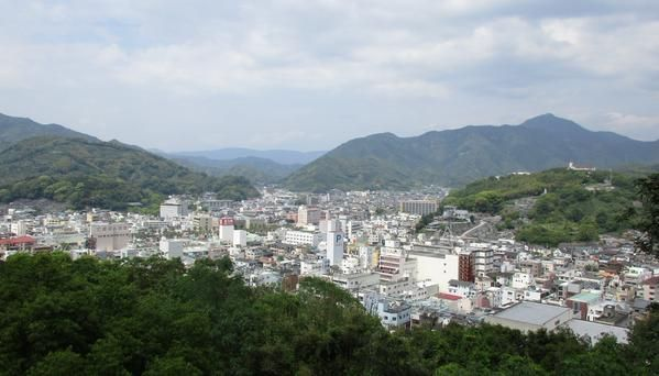 Uwajima is an old small city at west edge of Shikoku Island. It has also a beautiful castle and a small port.