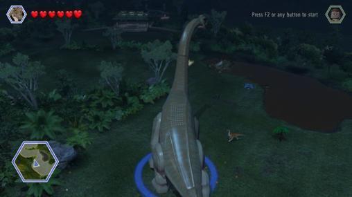 LEGO Jurassic world - Screenshots do jogo para Android. Jogabilidade do LEGO Mundo Jurássico.