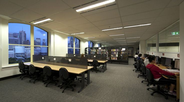 melbourne school college fitout Library 2