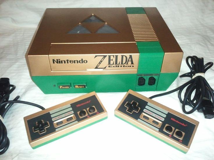 Custom Nintendo NES Zelda Edition