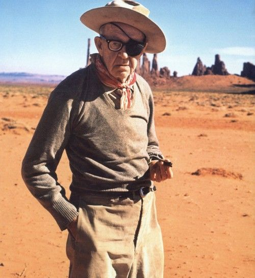 """I didn't show up at the ceremony to collect any of my first three Oscars. Once I went fishing, another time there was a war on, and on another occasion, I remember, I was suddenly taken drunk.""  -John Ford"