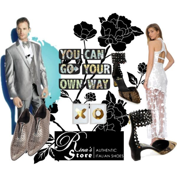 """""""Go Your Own Way [In Italian Shoes From Rina's Store"""""""" by cody-k on Polyvore"""