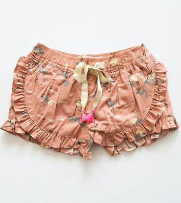 Louise Misha Loulou Shorts, Flamingo