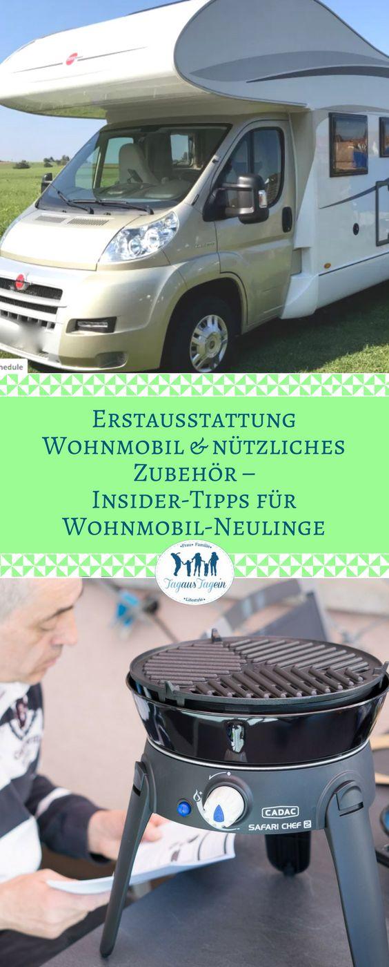 Nützliches Zubehör & Erstausstattung Wohnmobil - Insider-Tipps für Wohnmobil-Neulinge #wohnmobil #travel #camping  #caravan #reisen