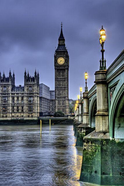 Big Ben, London by Francisco Diez, via Flickr