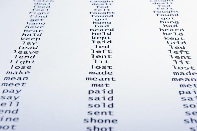ᐅ Unregelmassige Irregulare Englischen Verben Liste Und Ubungen In 2020 Englische Verben Unregelmassige Verben Englisch Verben