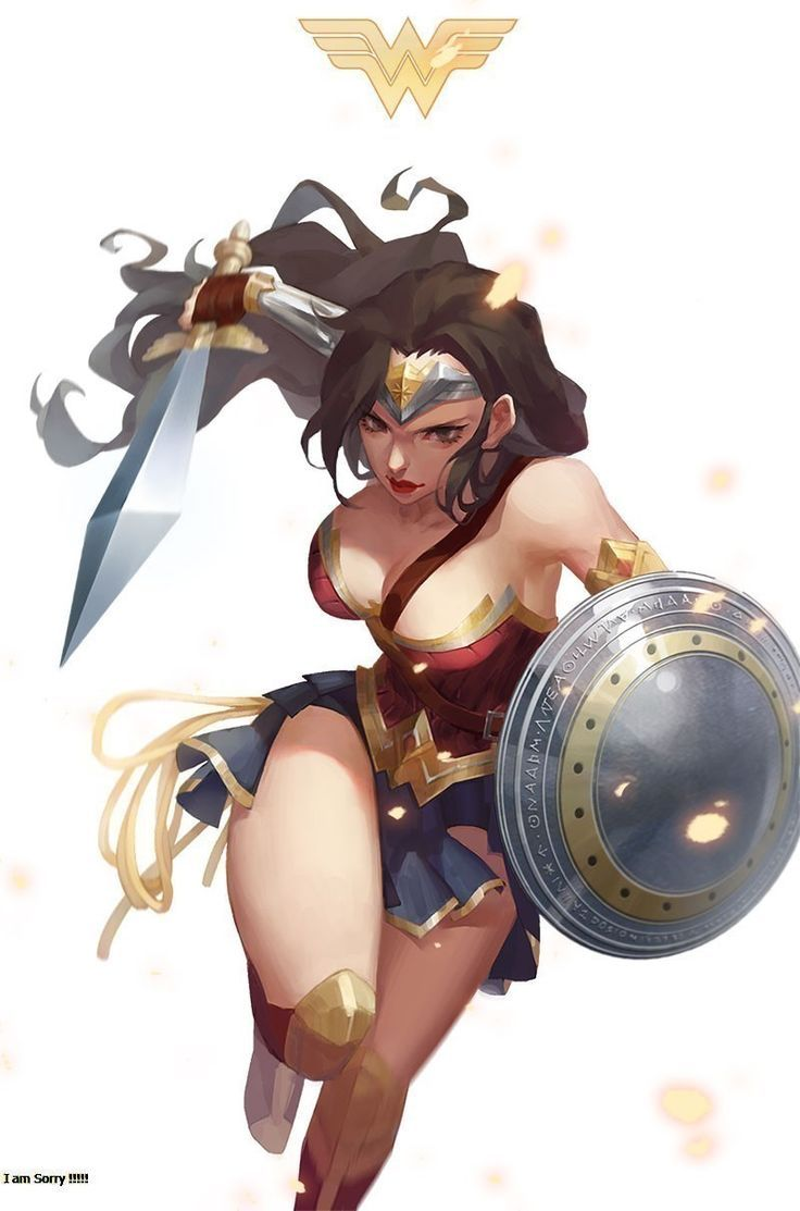 Wonder Woman - More at https://pinterest.com/supergirlsart