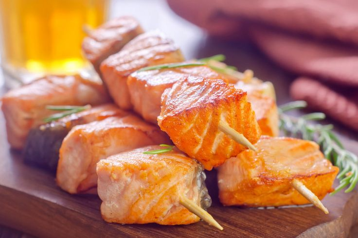 What better way to enjoy deliciously grilled food than with these incredible salmon kebobs?