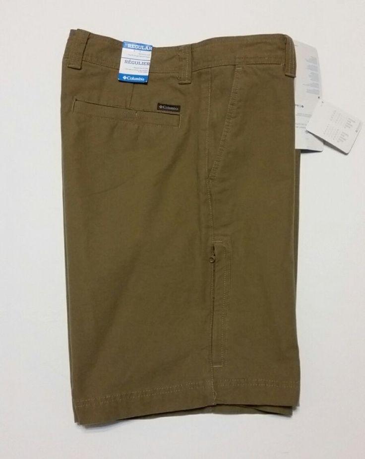 COLUMBIA Men's Khaki Shorts Size 36 - Hiking & Trail - New with tag #Columbia #CasualShorts