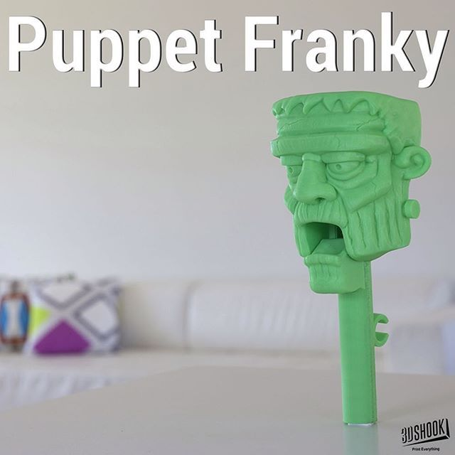 """@3dshookcollections's photo: """"the PUPPET collection - our talking puppet heads...kids and adults love it!!! At 3DShook we remember Home Theatre has """"Home"""" in it. Check us out at www.3dshook.com #3dprint #3dmodels #3dprinted #3dprinter #3dprinting #PrintEverything #makers #makermovement #makersgonnamake #tech #technology #puppet #puppets #puppetshow #puppettheatre #kidstuff #frankenstein #monster #scary #halloween #frankensteinmonster"""""""
