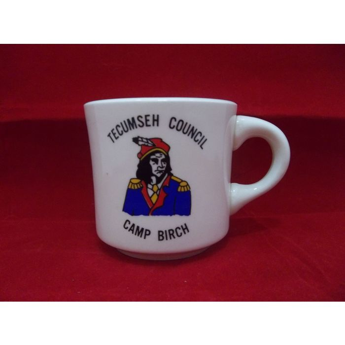 Tecumseh Council Camp Birch Boy Scouts BSA Vintage Mug  #Tecumseh #Council #CampBirch #Mug #BoyScouts #BSA #Coffee #Tea #Vintage #Collectible #Scouting #EagleScout #eBid