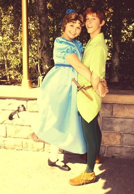 Andrew & Hali- After being childhood best friends and getting to play peter and wendy at Disney World they got married!