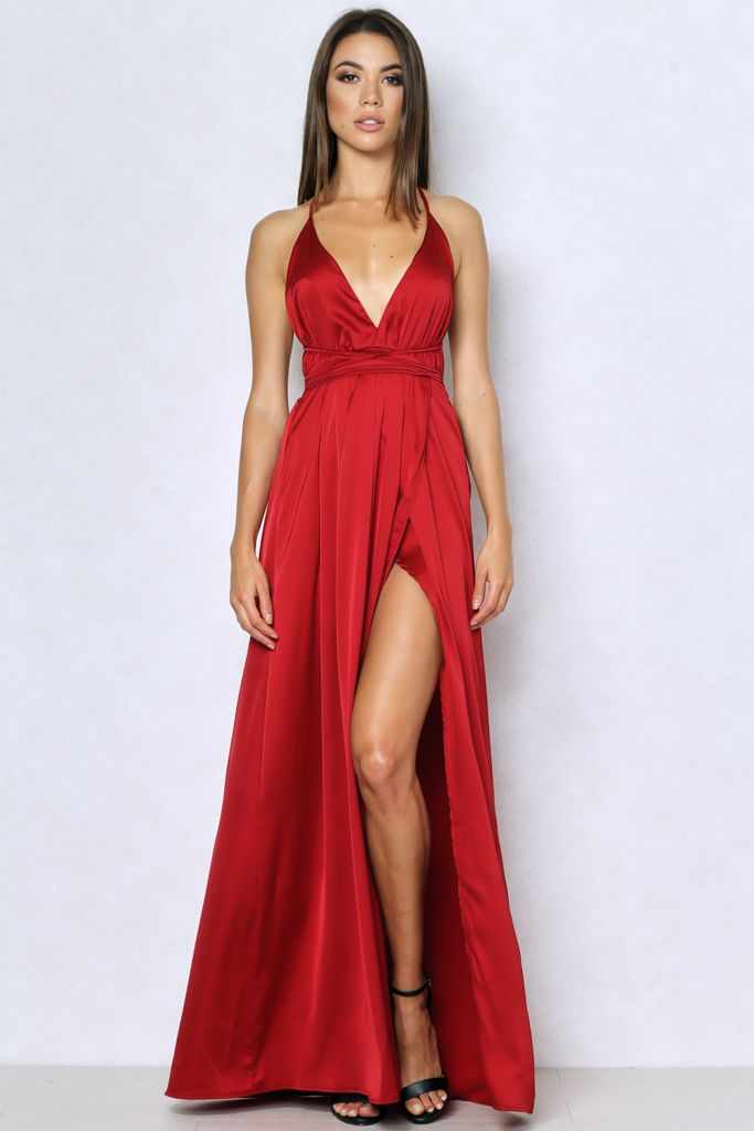 Light My Fire Dress In Red New Trends Pinterest Thighs Maxi Dresses And Lights