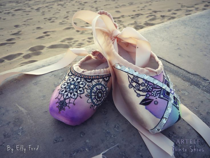 'The year so far' update - Energetiks Pointe Shoes by Elly Ford | Energetiks